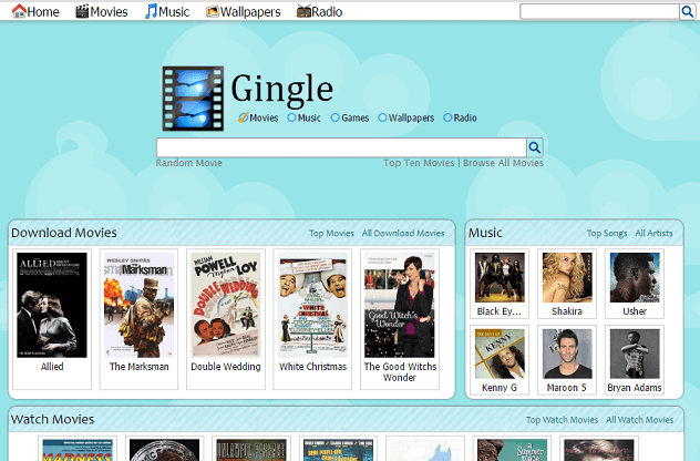 Gingle movie download site