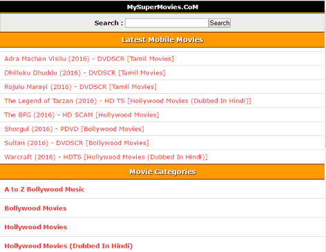 My Super Movies download site